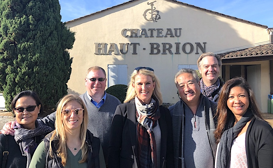 The 2019 Bordeaux Grand Cru Harvest Tour 3 at Chateau Haut Brion
