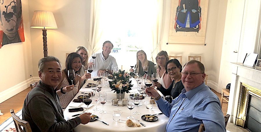 The 2019 Bordeaux Grand Cru Harvest Tour 3: an unforgettable lunch in a Classified Growth
