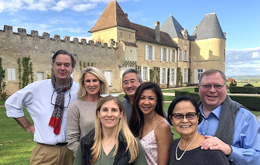 The 2019 Bordeaux Grand Cru Harvest Tour 3 at Superior First Growth Chateau d'Yquem