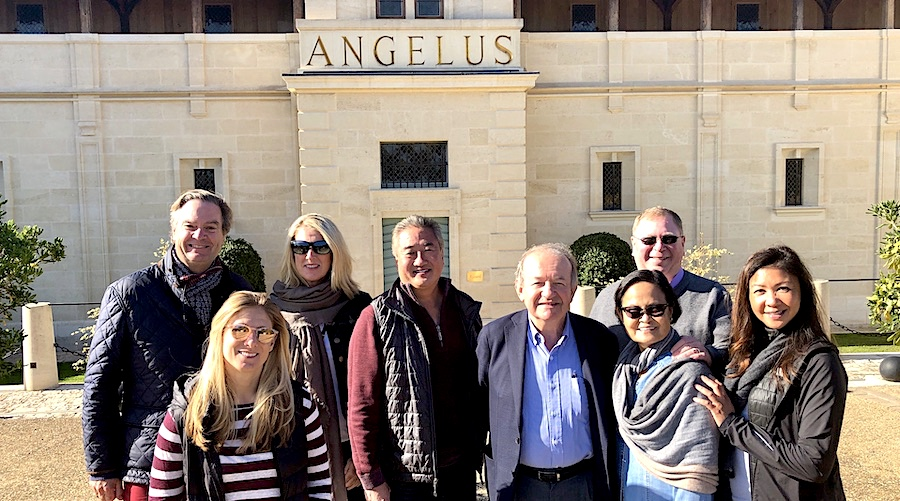 The 2019 Bordeaux Grand Cru Harvest Tour 3 tasting with the owner